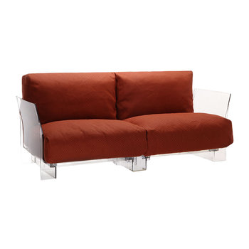 Pop Outdoor Two Seater Sofa - Orange