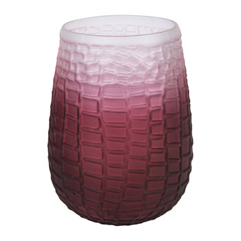 Croc Effect Glass Votive - Large