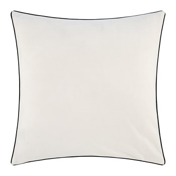Varsity Sweatshirt Pillow - 51x51cm - Cream