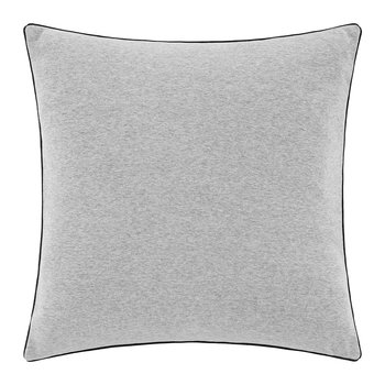 Varsity Sweatshirt Cushion - 51x51cm - Charcoal
