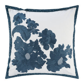 Bronwen Cushion - Indigo