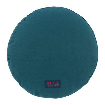 Coussin Rond Escaffo - Paon