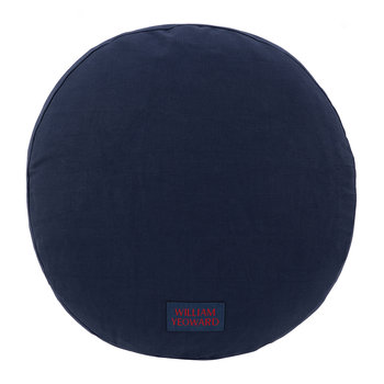 Coussin Rond Escaffo - Rouge
