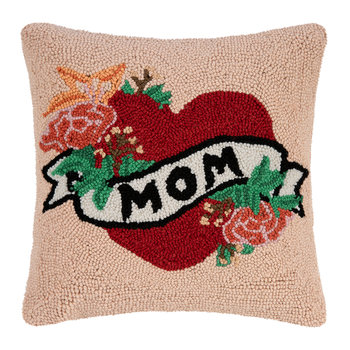 I Heart Mom Pillow - 40x40cm