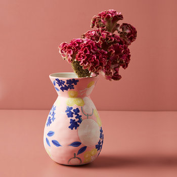 Carmo Vase - Pink - Small