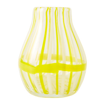 Venezia Cane Vase - Yellow - Small
