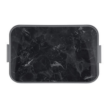Marble Lap Tray - Black