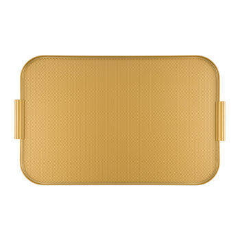 Metal Lap Tray - Gold