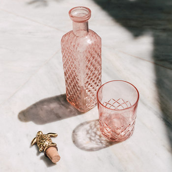 Pink Square Bottle