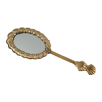 Miroir à Main Coquillage