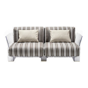 Pop Outdoor Two Seater Sofa - Dove Grey