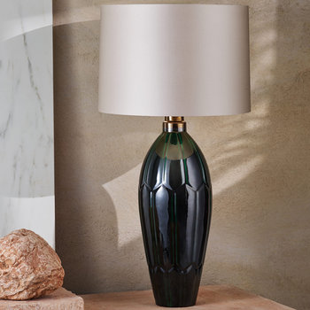 Agave Table Lamp - Emerald