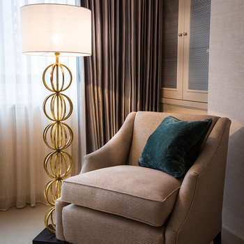 Rollo Floor Lamp - Gold