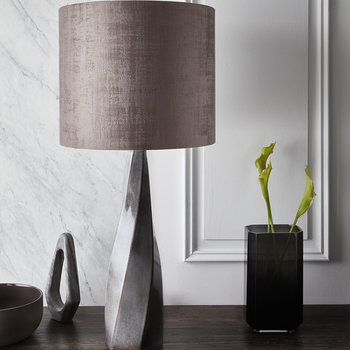 Saha Table Lamp - Bronze
