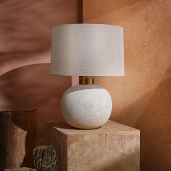 Terra Table Lamp - White