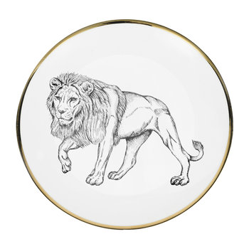 Animal Bread Plate - Lion