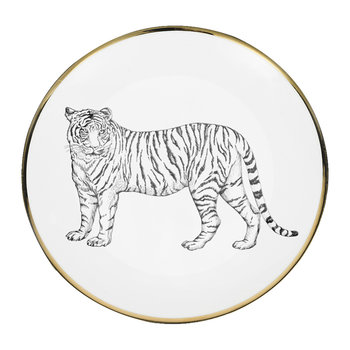 Animal Bread Plate - Tiger