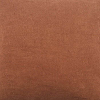 Linen Cushion Cover - 45x45cm - Terracotta