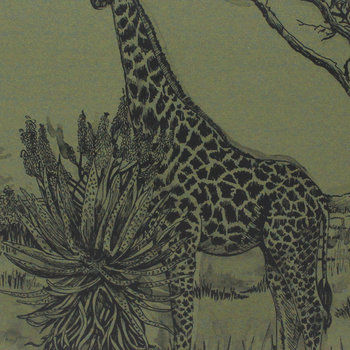 Safari Giraffe Placemat - Green