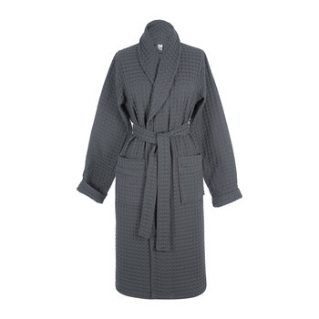 Viggo Bath Gown - Dark Gray