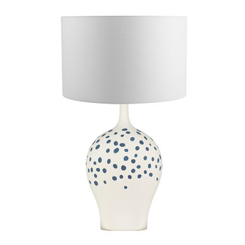 Angelica Table Lamp Base - Indigo