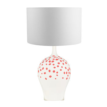 Angelica Table Lamp Base - Rouge