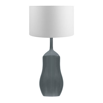Appia Ceramic Lamp - Slate