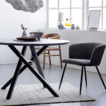 Connor Dining Table - Black