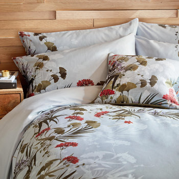 Highland Duvet Cover - Gray