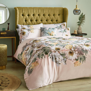 Woodland Quilt Cover - Nude