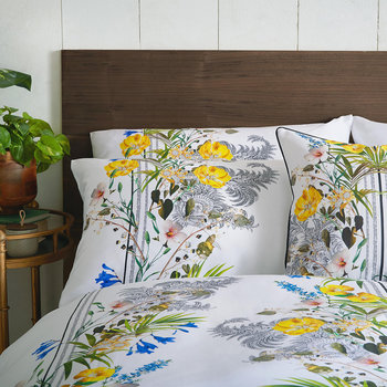 Royal Palm Duvet Cover - Multi