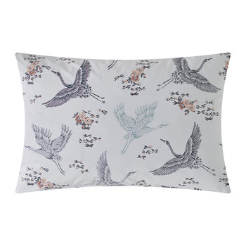 Floral Flight Pillowcase - Iris - Set of 2