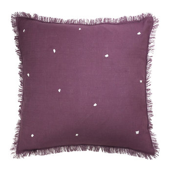Leia Pillow - Plum - 45x45cm
