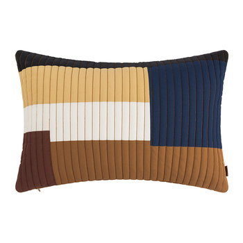 Shay Quilt Pillow - Mustard - 60x40cm