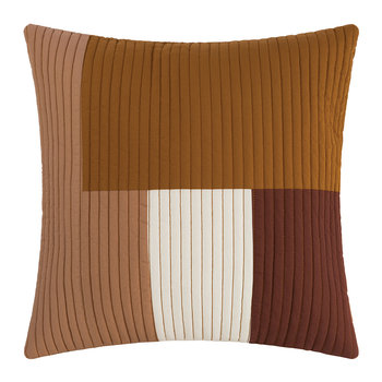 Shay Quilt Pillow - Mustard
