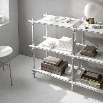 Stick Shelving System - White