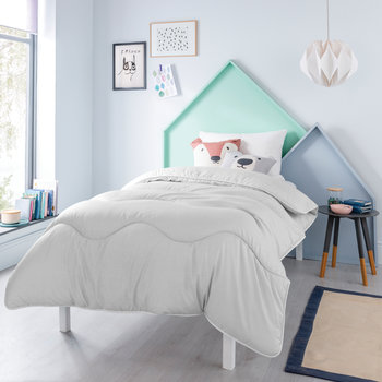 Night Owl Washable Duvet Set - Cloud Grey