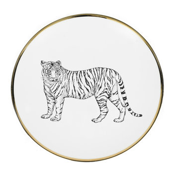 Animal Salad Plate - Tiger