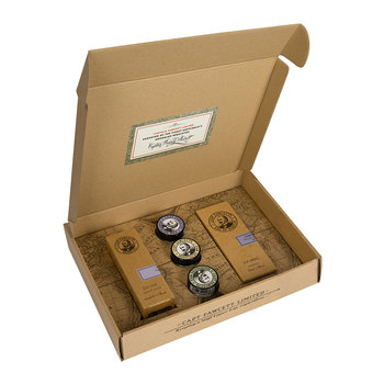 Eau De Parfum, Mustache Wax & Beard Oil Gift Set