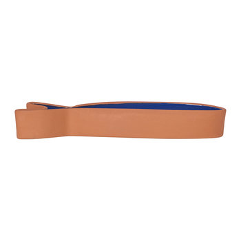 Fish Tapas Dish - Terracotta/Blue