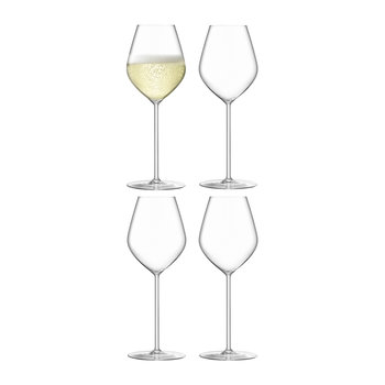 Borough Champagne Tulip Glass - Set of 4