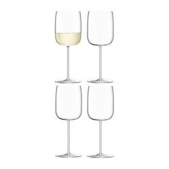 Borough Wine Glass - Set of 4 - Clear