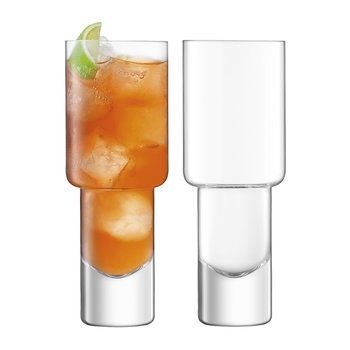 Vodka Mixer Glass - Set of 2
