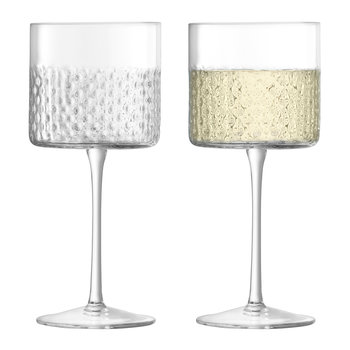 Verre à Vin Wicker - Lot de 2 - Transparent