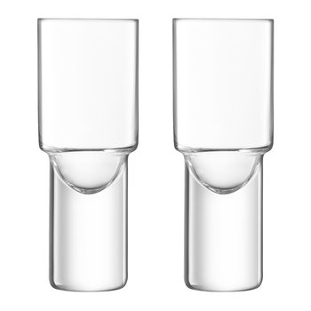 Verre Shot Vodka - Lot de 2 - Transparent