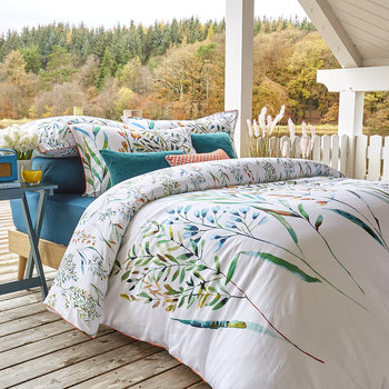 Prairie Duvet Set - Peacock