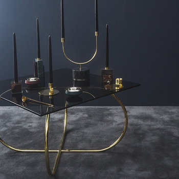 Angui Table - Black/Gold