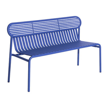 Filaire Outdoor Bench - Blue