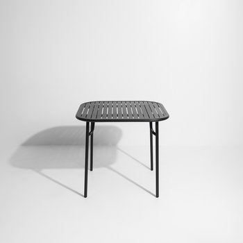 Filaire Outdoor Square Table - Black