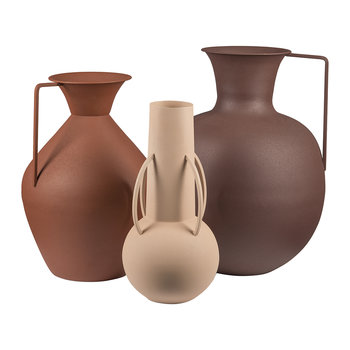 Vases Romains - Lot de 3 - Marron